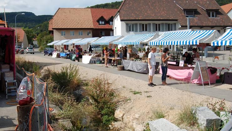 Der Dorfmarkt Lostorf findet heuer nicht statt.