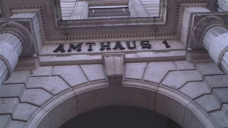 Das Amtsgericht Bucheggberg-Wasseramt tagt im Amtshaus 1 in Solothurn. Archiv