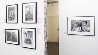 Photobastei Ausstellung «Punk: Raw Power», aufgenommen im Januar 2019.