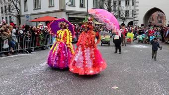 «Wunderschön!»: der Badener Fasnachtsumzug 2019 in Bild und Ton