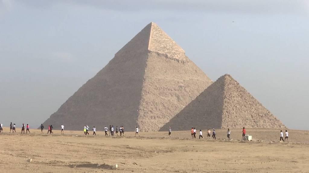 Halbmarathon um die Pyramiden von Gizeh