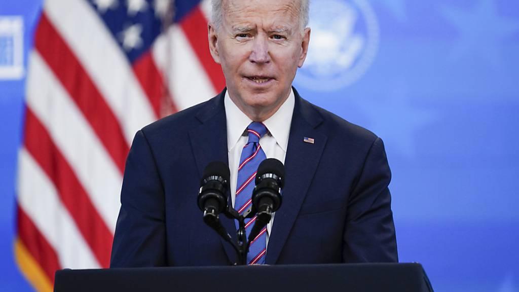 Biden gibt erste formelle Pressekonferenz als Präsident