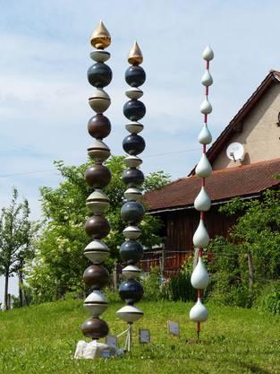 Stelen von Andreas Barz, Männedorf