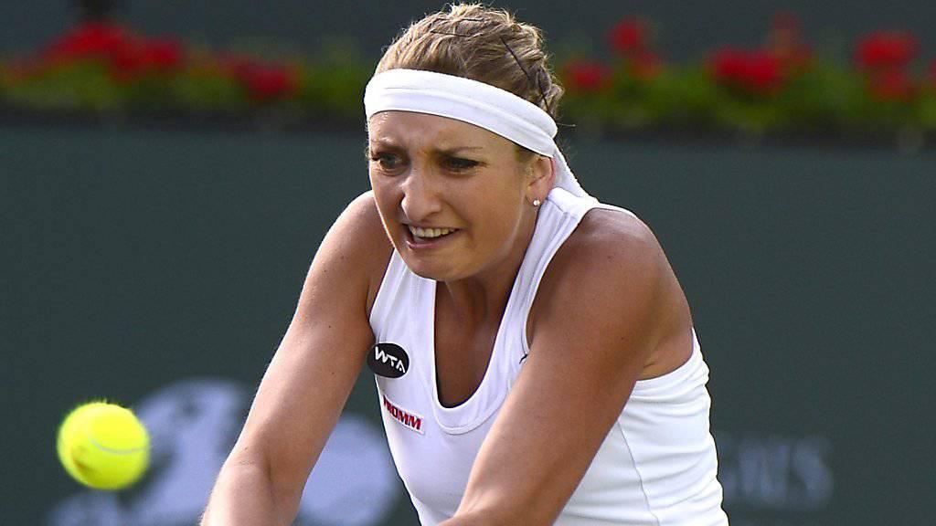 Endstation Achtelfinals: Timea Bacsinszky scheitert am WTA-Turnier in Indian Wells an der jungen Russin Daria Kasatkina