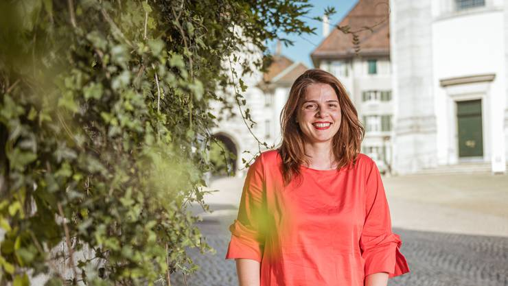 Anita Hugi, die neue Direktorin der Solothurner Filmtage