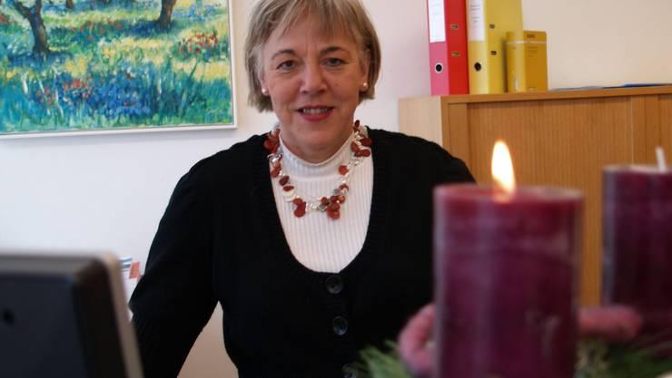 Hildegard Hochstrasser (54) wechselt nach 26 Jahren als Betreibungsbeamtin in Hägglingen nach Frick.