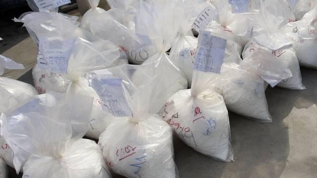 Plastiksäcke mit Heroin (Symbolbild)