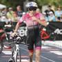 Diesmal reichte es nur für den 13. Platz: Daniela Ryf am Ironman in Hawaii.