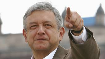 Lopez Obrador kandidiert wieder für das Amt des mexikanischen Präsidenten.