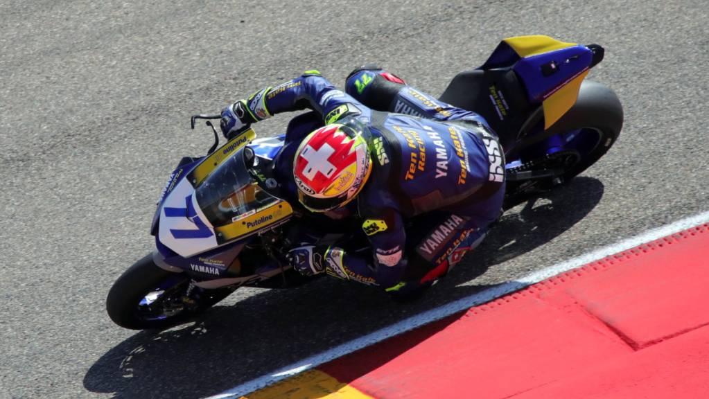 Dominique Aegerter fährt bei der Superbike-WM von Sieg zu Sieg.