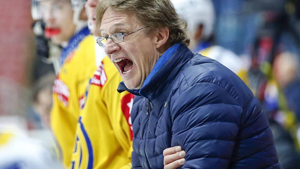 Zog mit dem HC Davos locker in die Halbfinals ein: Trainer Arno Del Curto