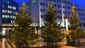 Die Weihnachtsbeleuchtung im Bifang erfährt weitere Bereicherungen.
