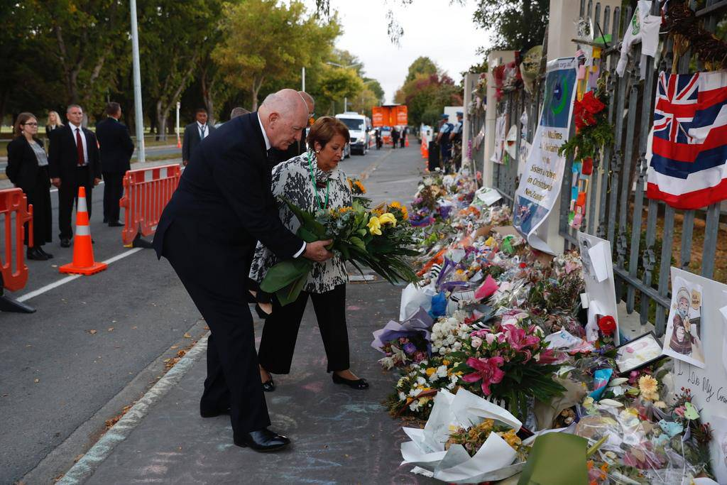 Gedenkfeier in Christchurch (© Keystone)