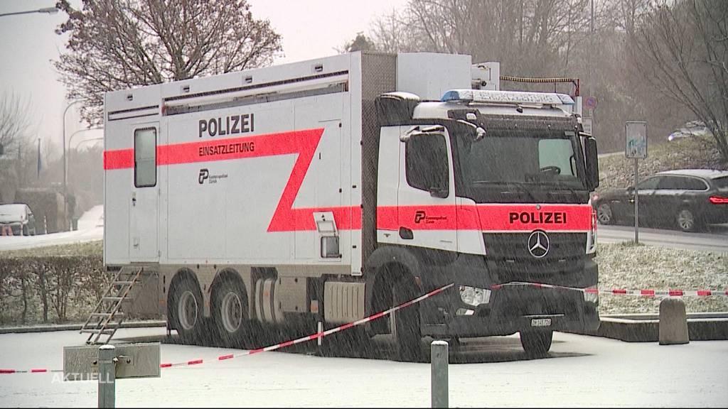 Angeschossen: Polizei konnte in Rüschlikon (ZH) einen Bankomatenknacker verhaften