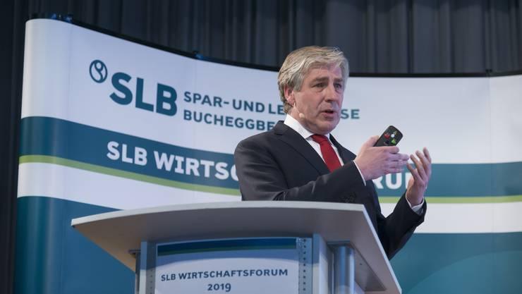 Spar und Leihkasse Bucheggberg, Klaus W. Wellershoff