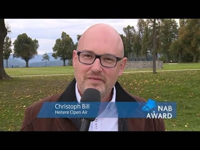 NAB-AWARD 2015 - Christoph Bill (Kandidat)