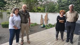 Erzielten mit ihrer Beschwerde einen Grosserfolg: Rita (l.) und Markus Schaffer (er war SP-Einwohnerrat) sowie Elisabeth und Francis Kuhlen (er ist FDP- Einwohnerrat).