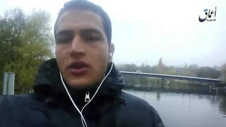 Amaq, das Propaganda-Sprachrohr des IS, hat ein Bekenner-Video von Anis Amri veröffentlicht.