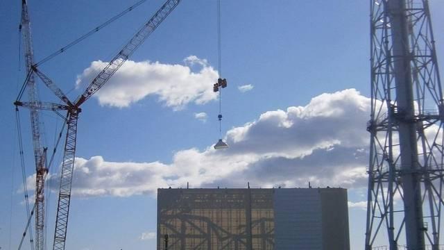 Auf der Atomanlage Fukushima sind Reparaturarbeiten im Gang (Archiv)