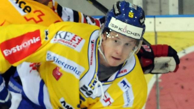«Wir schiessen zurzeit einfach keine Tore», sagt Langenthals Yves Müller.