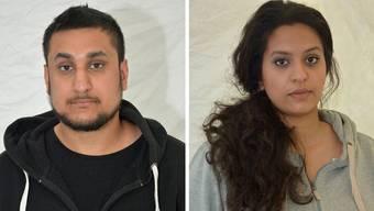 Das junge Paar diskutierte auf Twitter über den Anschlag.