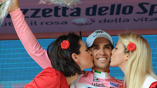 Alberto Contador verteidigte das Leadertrikot ohne Probleme