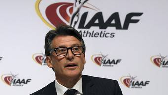Nick Davies war unter IAAF-Präsident Sebastian Coe, hier im Bild, als stellvertretender Generalsekretär tätig