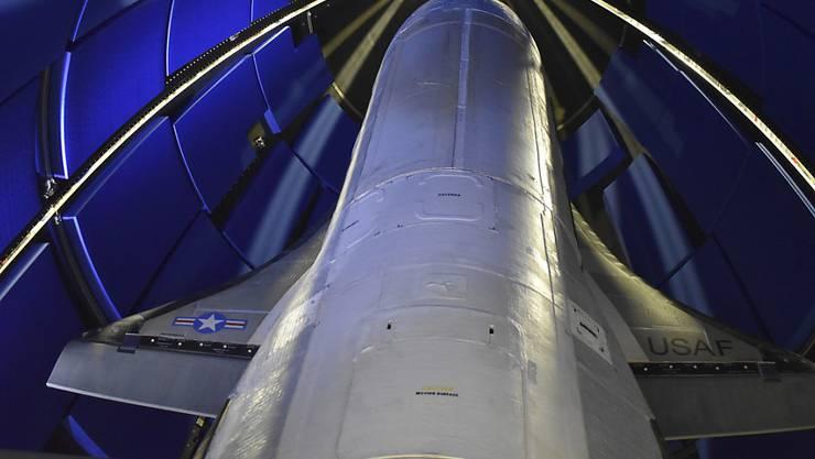 Die Trägerrakete für den Raumgleiter in Cape Canaveral, Florida.