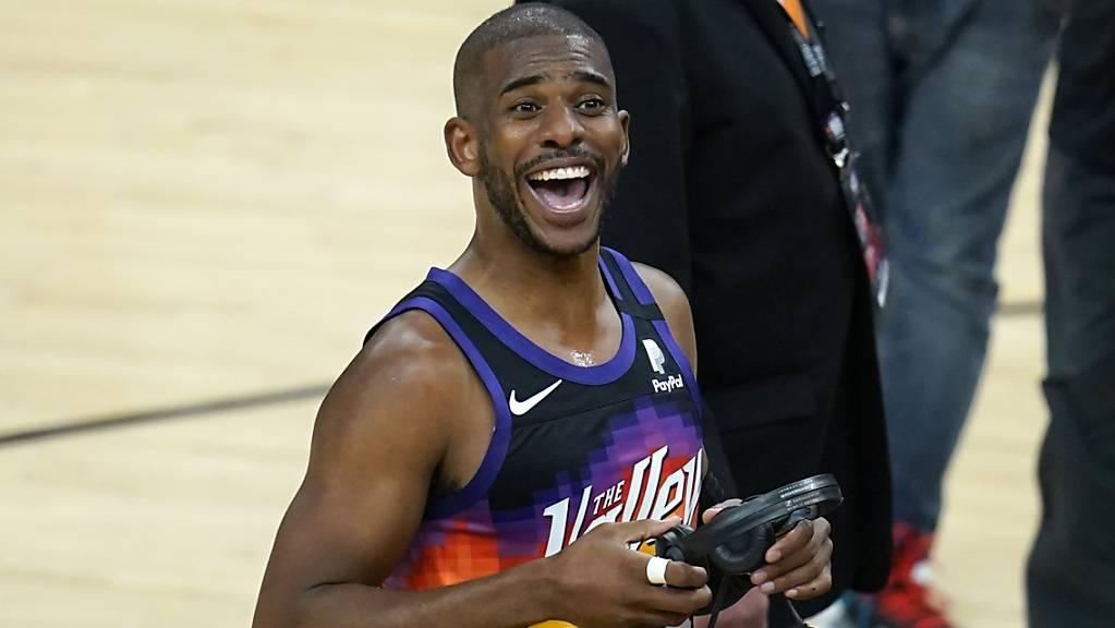 Chris Paul war mit 32 Punkten der erfolgreichste Werfer der Phoenix Suns.
