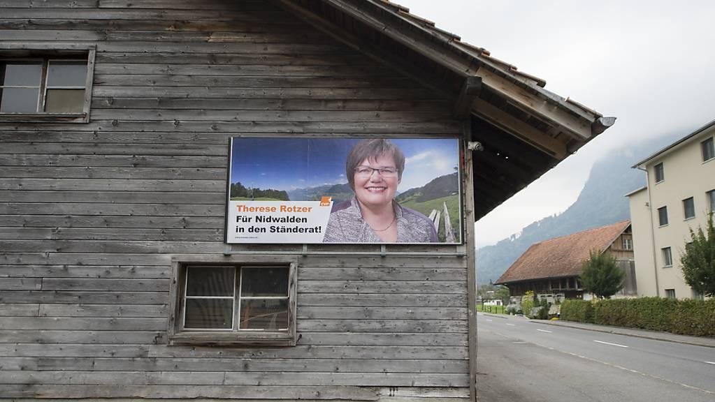 Therese Rotzer ist oberste Nidwaldnerin 2020/21. (Archivaufnahme)