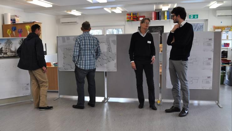 Infoveranstaltung zum Neubau Schulhaus Haldenacher.