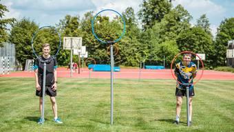 1. Quidditch-Probetraining auf dem Rasenplatz der Solothurner Kanti