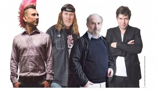 Diese Kulturschaffenden bezeichnen sich als bürgerlich-liberal. Fotos: Roland Schmid, Emanuel Freudiger, Keystone und Siggi Bucher