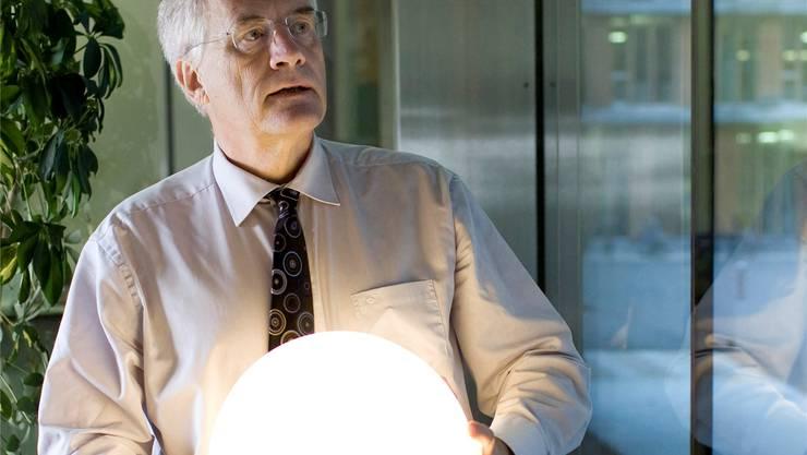 Wie sieht die Energiezukunft aus? Walter Steinmann sucht nach Ideen.