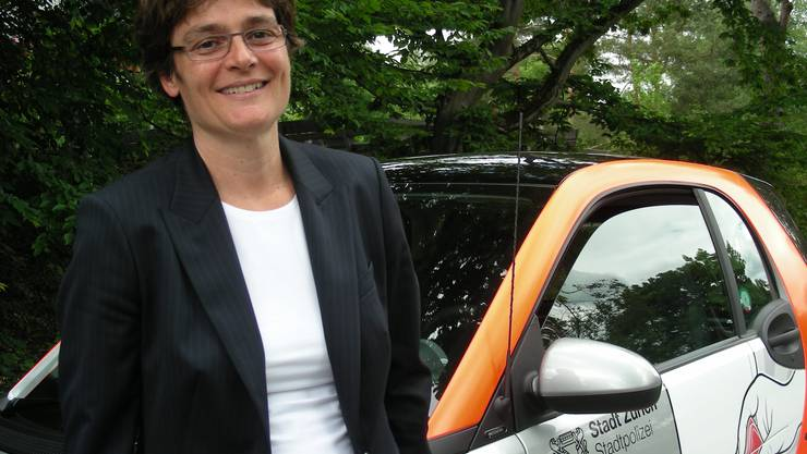 Seelsorge: Yvonne Waldboth kennt die Nöte der Polizisten. (Bild: ABR)