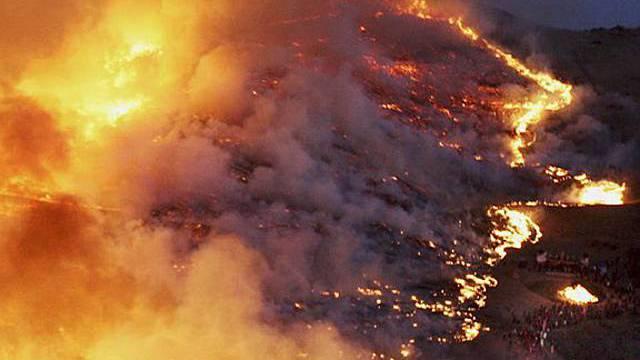 Grossflächenbrände könnten zunehmen