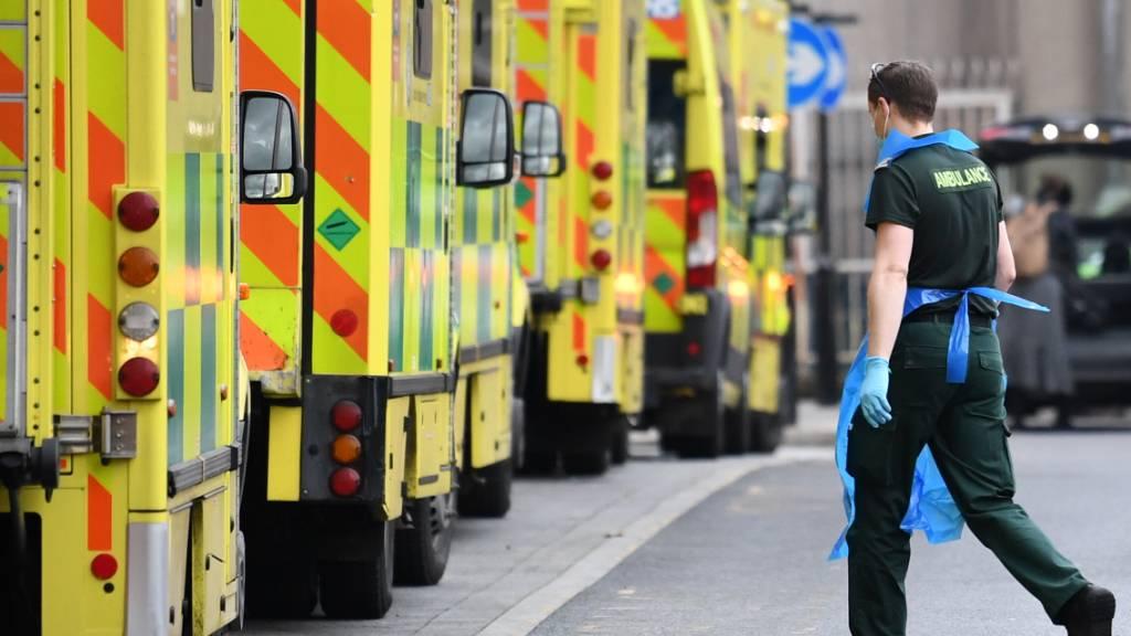 Großbritannien ist eines der am schwersten von der Corona-Pandemie betroffenen Länder Europas. Foto: Stefan Rousseau/PA Wire/dpa