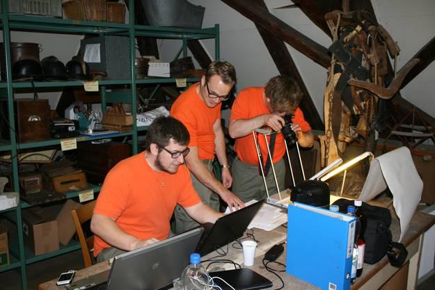 Der Kulturgüterschutz dokumentierte und inventarisierte rund 170 Kulturgüter des Dorfmuseums Gränichen.