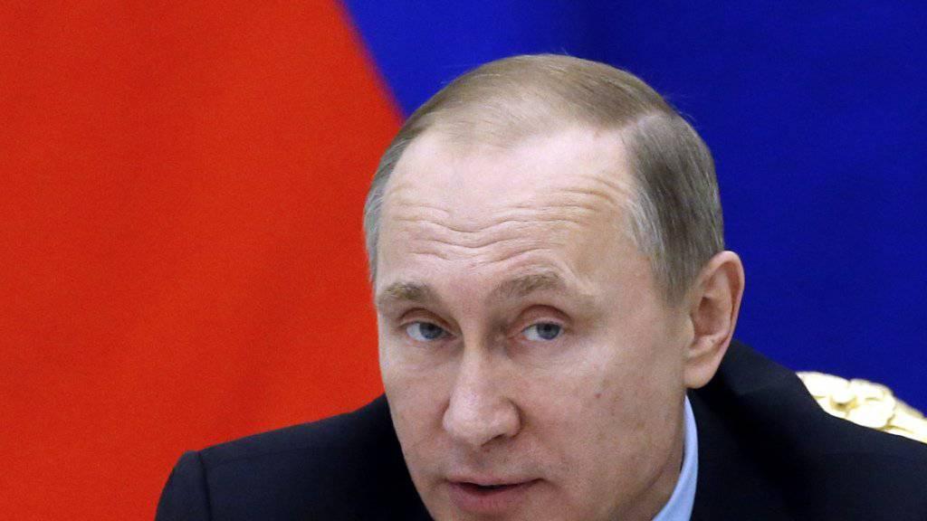 Ordnete persönlich an, die Ukraine vor ein Gericht zu bringen: Der russische Präsident Wladimir Putin. (Archiv)