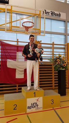 Ilija Letic (Shinsei Kan Karateschule) gewinnt Shobu Ippon Karate SM.