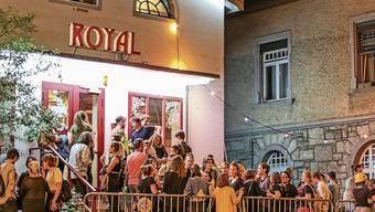Maximal 300 Gäste haben im Badener Kulturlokal «Royal» Platz.