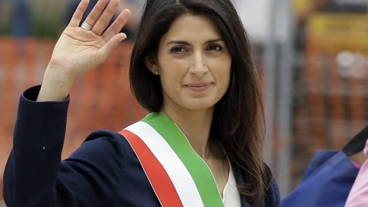 An einer Verurteilung wegen Vetternwirtschaft vorbeigeschrammt: Roms Bürgermeisterin Virginia Raggi.