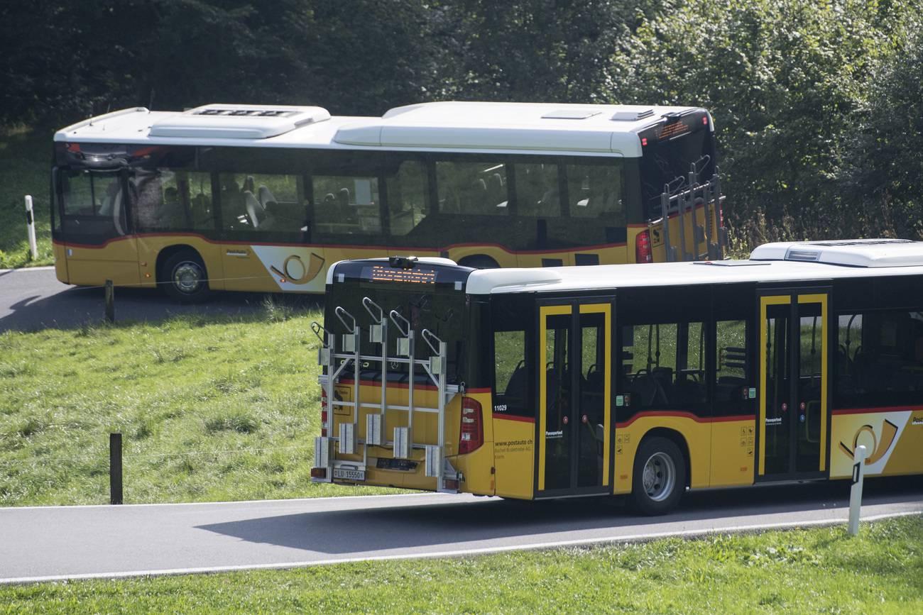 Die Postauto AG kassiert zu Unrecht Subventionen in Millionenhöhe. (© Keystone)
