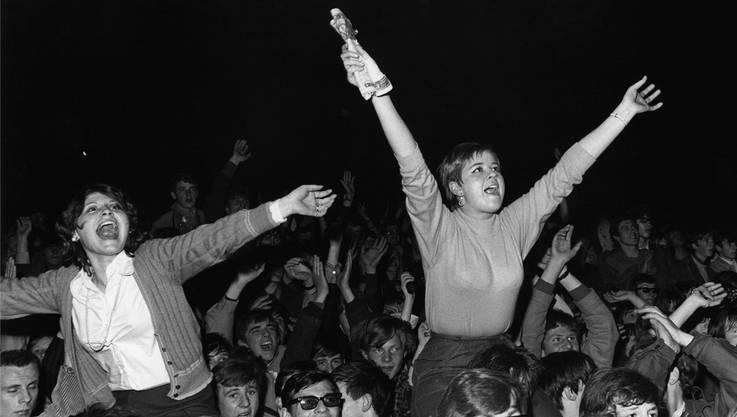 Die Fans brachen in Hysterie aus. 15000 kamen ans «Monsterkonzert» mit Jimi Hendrix.
