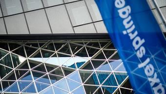 Axel Springer soll weg von der Börse. Im Bild: Das neue Springer-Gebäude von Architekt Rem Kolhaas. (Archivbild)