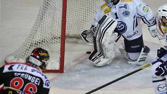 Julien Sprunger bei einem seiner vier Treffer