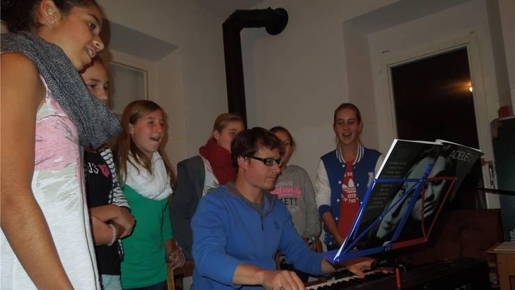 Das letzte Musiklager vor zwei Monaten absolvierten die Musikschulen von Wohlen und Villmergen bereits gemeinsam. zvg/Archiv