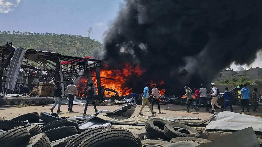 Zuspitzung in Tigray: UN schlagen Alarm nach Vorfall mit Hilfsflug