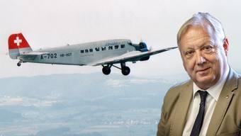 Am Tag des Absturzes hat Tele M1 den Grenchner Piloten und Aviatikjournalisten Peter Brotschi besucht und seinen Erinnerungen gelauscht. (4.8.2018)