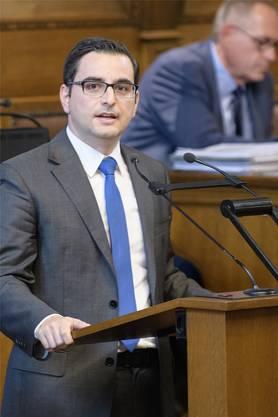 Muss parteiintern schlichten: FDP-Präsident Luca Urgese.